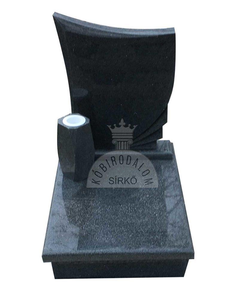 Kobra urna sírkő