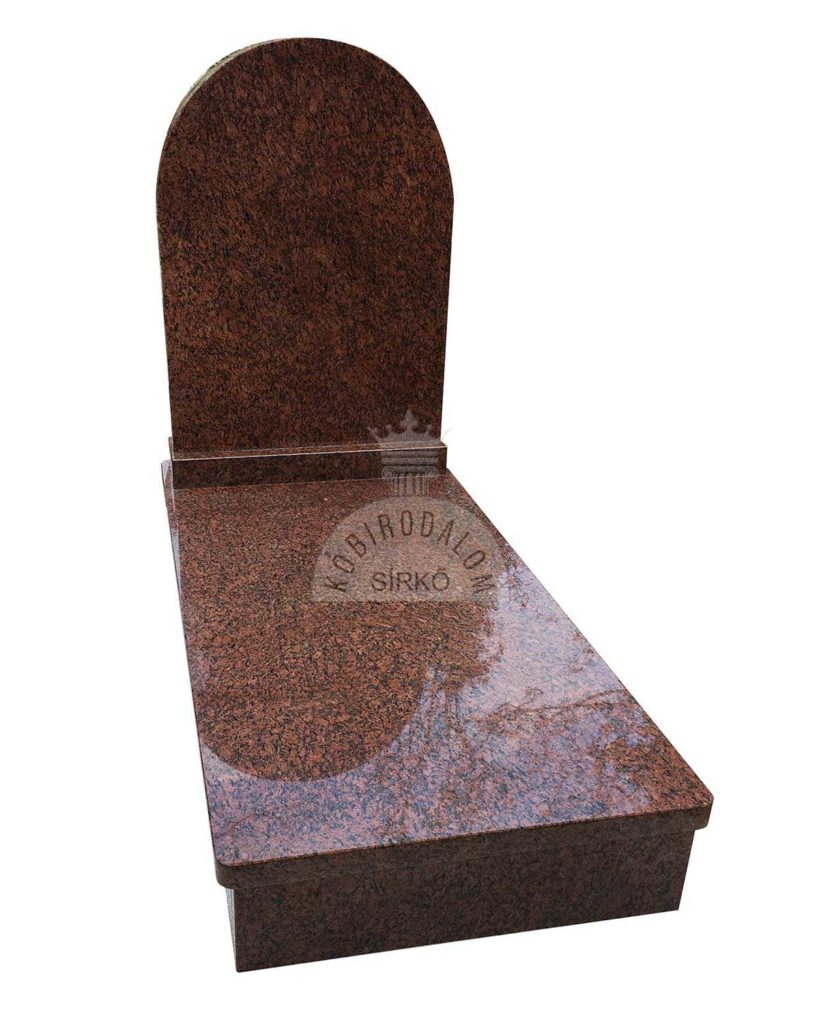 Vanga gránit szimpla sírkő