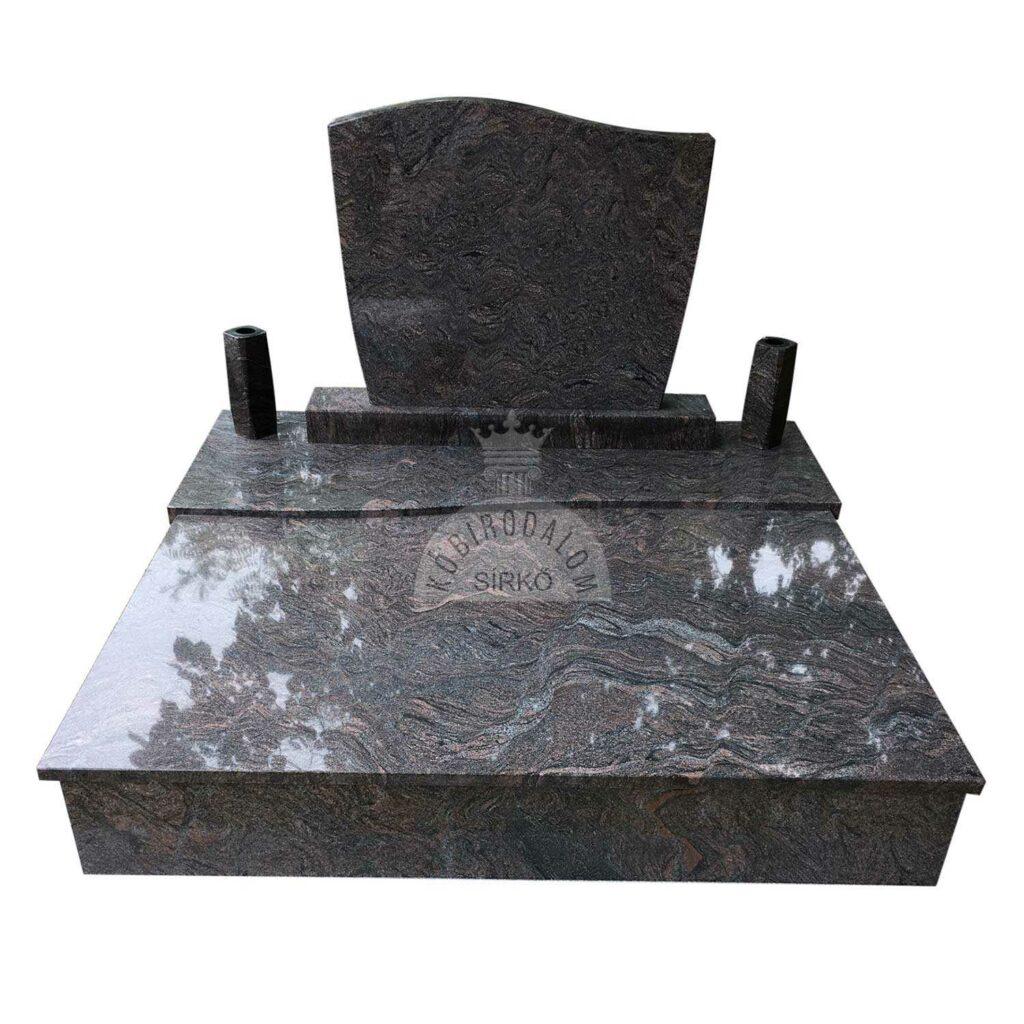 Paradiso gránit dupla sírkő