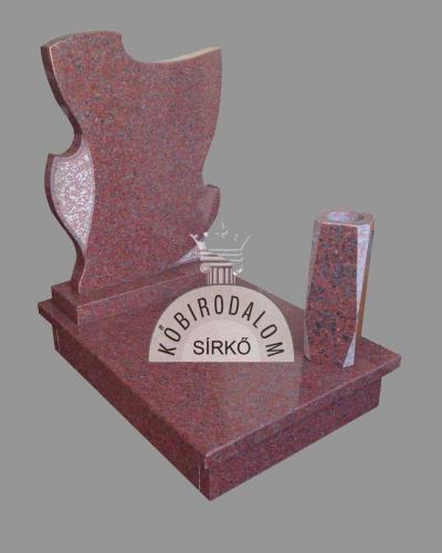 Africa Red urna gránit sírkő - Ár: 220 000  Ft