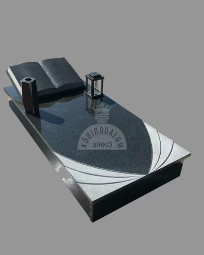 Impala gránit szimpla sírkő - Akciós ár: 480 000  Ft