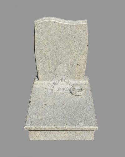 Kashmir White gránit urna sírkő - Ár: 230 000Ft