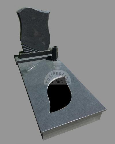 Kobra szimpla gránit sírkő - Akciós ár: 499 000  Ft