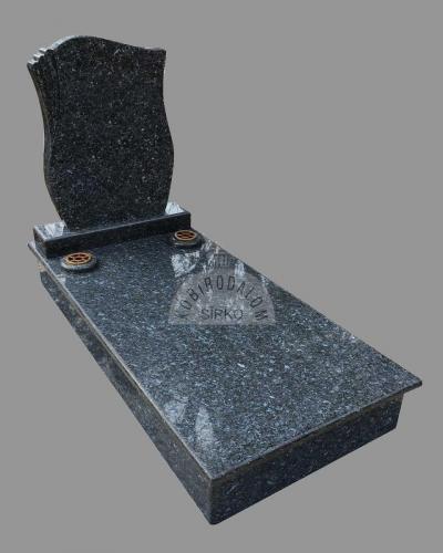 Labrador szimpla gránit sírkő - Akciós ár: 610 000  Ft