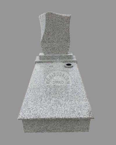 Mountain Pink szimpla gránit sírkő 2 - Akciós ár: 315 000  Ft