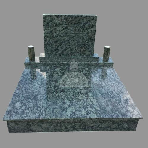 Olive Green gránit dupla sírkő - Ár: 990 000  Ft