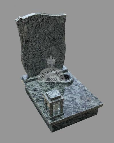 Olive Green urna gránit sírkő - Ár: 220 000  Ft