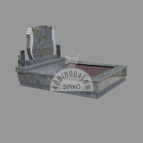 Vizag Blue dupla gránit sírkő - Akciós ár: 910 000  Ft