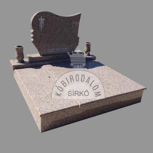 Rosa Porrinho dupla gránit sírkő - Akciós ár: 690 000  Ft