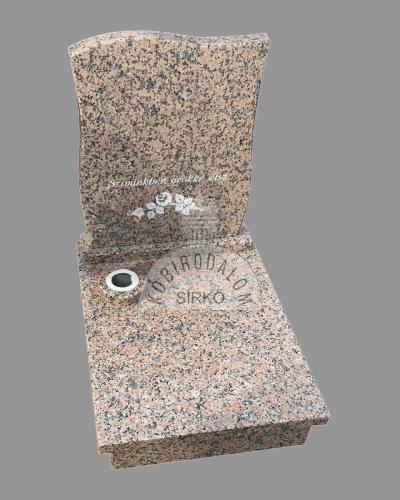Rosa Porrino urna gránit sírkő - Akciós ár:  175 000