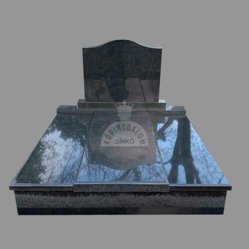 Royal Black gránit dupla sírkő - Ár: 850 000  Ft