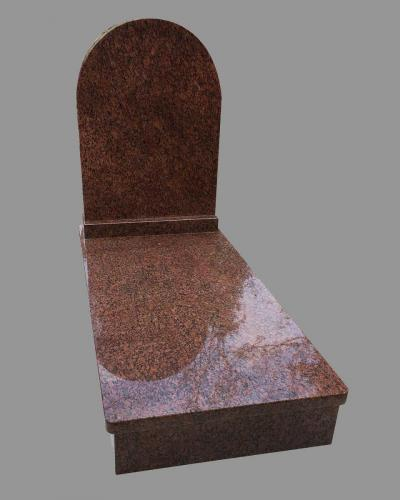 Vanga gránit szimpla sírkő - Akciós ár: 555 000  Ft