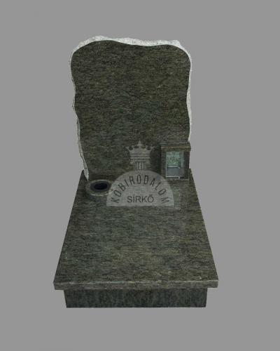 Verde Bahia gránit urna sírkő - Ár: 225 000  Ft