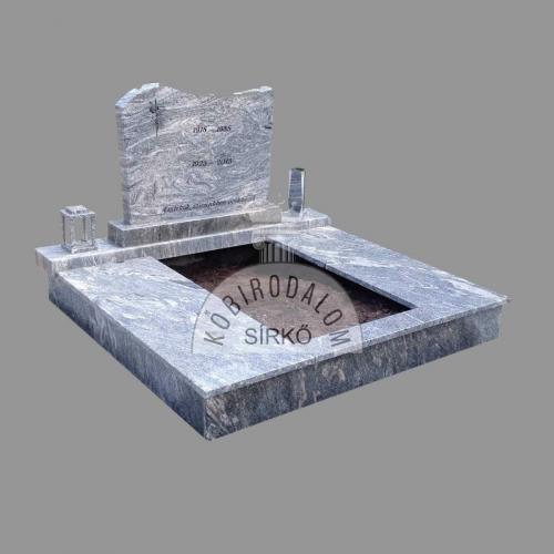 Verde Marina dupla gránit sírkő - Akciós ár: 810 000  Ft