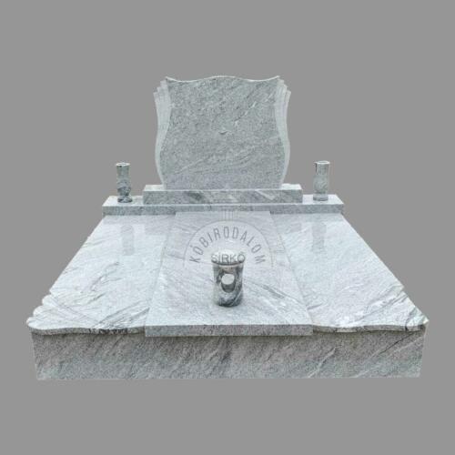 Viscount White gránit dupla sírkő - Ár: 890 000  Ft