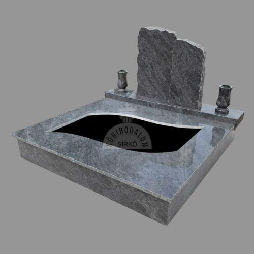 Vizag Blue gránit dupla sírkő - Ár: 910 000  Ft