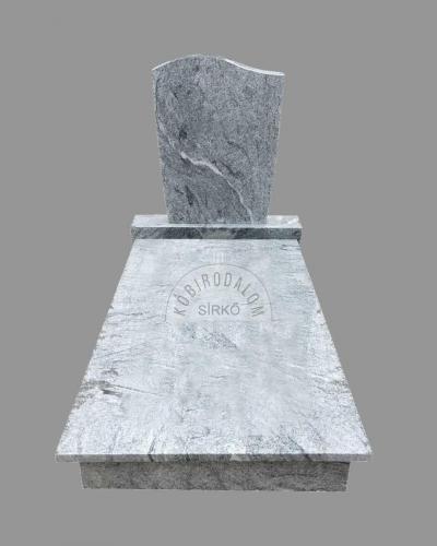 Wiscount White gránit szimpla sírkő - Akciós ár: 460 000  Ft