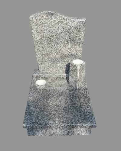 Bianco Tarn gránit urna sírkő - Ár:  180 000  Ft