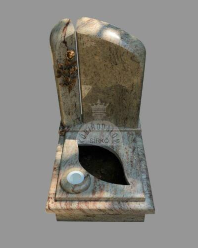 Shivakashi gránit urna sírkő - Akciós ár:  290 000  Ft