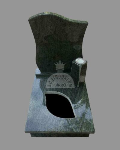Verde San Francisco gránit urna sírkő - Akciós ár:  230 000  Ft