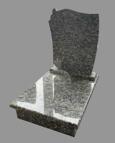 Wave White gránit urna sírkő - Ár:  185 000  Ft